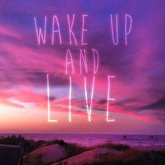 ~Wake Up And Live ~ by Megan Alason Pearl on Etsy