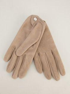 GIORGIO ARMANI - leather gloves