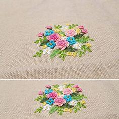 #embroidery #embroider #needlework #dmc #flowers #gachi #bordados #handmade