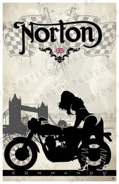 Norton Commando  http://posters.fourandaquarter.com/#close
