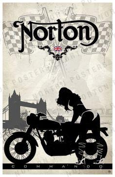 Norton Commando  http://posters.fourandaquarter.com/#close