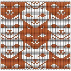 knitting charts tessellations charts for - knitting Knitting Charts, Knitting Stitches, Knitting Patterns, Crochet Patterns, Loom Patterns, Crochet Cross, Crochet Chart, Cross Stitch Charts, Cross Stitch Patterns