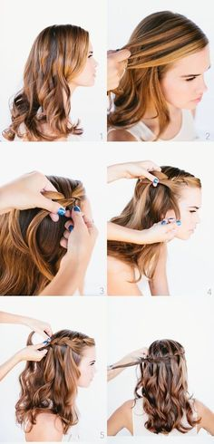 Tutorial fácil: trenza en cascada |A beauty and healthy life