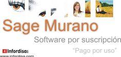 Sage Murano. Software por suscripción. Pago por uso.