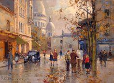 eduardo cortes artist and painter | Place du Tertre