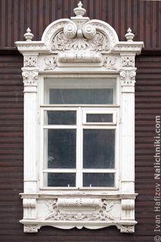 Традиционный наличник Новосибирска №16