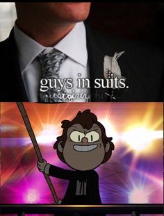 """Lol yup, in that ep Bipper looked hot>>He did, he did XD. But what about in """"Northwest Mansion Mystery""""?"""