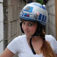 the coolest helmet you ever did see  <--- why yes indeed!
