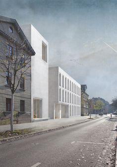 Amelie Barth | Bauhaus Campus | Entwerfen und Gebäudelehre ll | Bauhaus-Universität Weimar