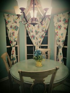 Diy curtains from pioneer woman table cloths❤❤