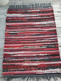 Woven Rag Rug by Patty Martinson