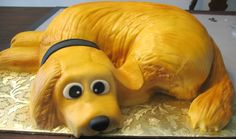 Pictures Retriever Dog Birthday Cake – Of Cakes
