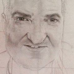 #father #art #pencil #portrait not finished