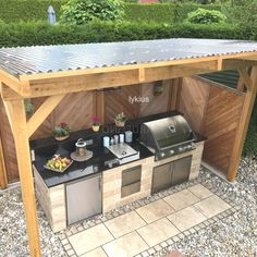 barbecue area garden barbecue area garden Trend Outdoor kitchen our guide . - barbecue area garden barbecue area garden Trend outdoor kitchen our guide gives all tips ru -