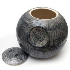 Death Star cookie jar - Star Wars!