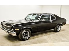 1971 chevy nova Black On Black Ss  my first car was a 67 Chevy Malibu...very similar 454 engine...