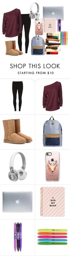 """""""Finals Week"""" by tardisblueimpala-221b ❤ liked on Polyvore featuring Dorothy Perkins, UGG Australia, Billabong, Master & Dynamic, Casetify, Incase, ban.do, Vera Bradley, casual and college"""
