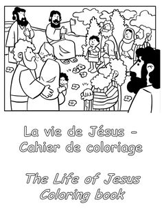 Jesus is born in Bethlehem The angel Gabriel told the virgin Mary that she would have a son, Jesus. Shortly before Jesus w. Nativity Coloring Pages, Bible Coloring Pages, Coloring Pages For Kids, Coloring Books, Life Of Jesus Christ, Jesus Lives, Bible Timeline, Painted Books, Bible Crafts