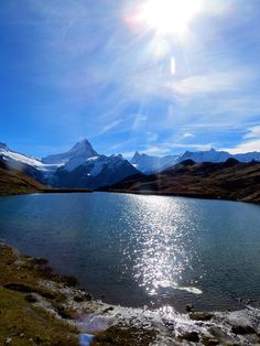 Bachalpsee at Grindelwald First. Switzerland is just stunning! #jungfraurailways #jungfraubahnen  www.rapunzel-will-raus.ch