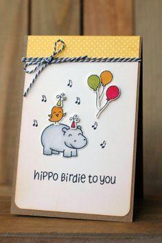 lawn fawn hippo birdie - Google Search