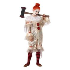 Costume for Children Male clown - 7-9 Years