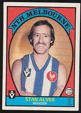 1978 Scanlens Vfl Football Card Sports Mem, Cards & Fan Shop South Melb Swans Graham Teasdale #7 Australian Football Cards