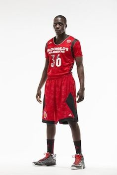 The West uniforms for the upcoming McDonald s All-American Game — Adidas High  School Basketball d4b077b8c