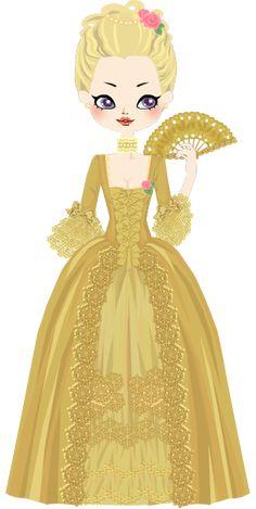 Madame de Pompadour by marasop on DeviantArt