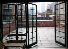 steel bifold doors - Google Search                                                                                                                                                                                 More