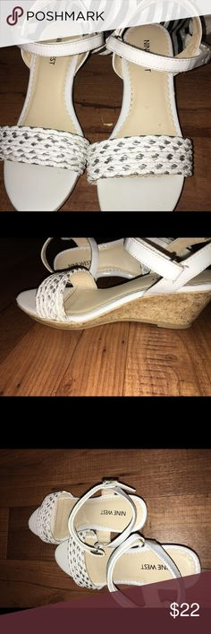 Nine West  girls wedge  sandals size 2.5 Gorgeous, EUC and fun these beautiful Sandals get compliments every where we go! ! No flaws worn to church two or three times and Easter Sunday. ⚠️Price Firm unless bundled⚠️ 🚫Smoke free home! 📦 Same or next Day Shipping from TN 🎸(excludes weekends & Holidays) 🛍- Thank you for shopping my closet Nine West Shoes Slippers