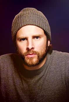 James Roday. With a full beard. I didn't recognize him for a minute