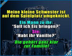 Die gehört zu uns! ^^' Lustige Sprüche und Bilder #Humor #lecker #Eis #Familie #Sprüche #lustigeMemes #lustig #Jodel #Sprüche