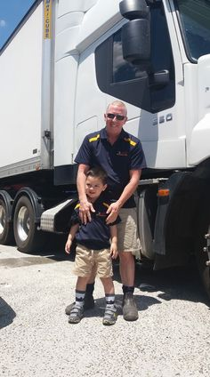 Just a glimpse of the IVECO Truck with the oldest & youngest employees 😉