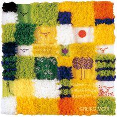 Fabric Art, Blog Entry, Weaving, Textiles, Kids Rugs, Blanket, Crochet, Inspiration, Design