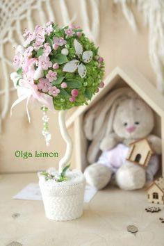 Фотографии Ольга Лимон. Топиарий, декор, цветы, магниты