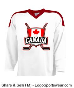 design your own ice hockey jersey