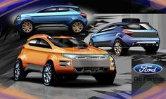 Ecosport 2022 by magao on DeviantArt Ford Ecosport, Car Ford, Ford Mustang, Car Design Sketch, Car Sketch, Mini Crossover, Ford Courier, Ford F150 Raptor, Ford Fiesta St