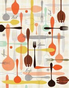 Vintage kitchen - myLusciousLife.com - in the kitchen - lieblings.weerke.jpg