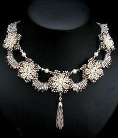 House of Windsor Necklace by Cielo Design, via Flickr