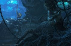ArtStation - Downtown Cave, Fenghua Zhong