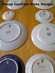 Cheap Invisible Plate Hangers