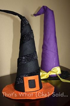 Witch Hats Decorations