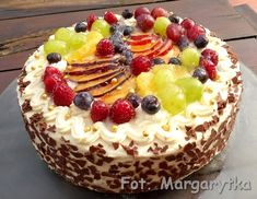 Fancy Cakes, Tiramisu, Sweet Tooth, Cheesecake, Food And Drink, Birthday Cake, Pudding, Cookies, Baking