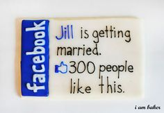 #Facebook marriage cookies