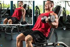 Try Hunter Labrada's effective hacks for tried-and-true arm exercises to maximize your results and add size to your biceps and triceps! Many arm exercises look simple, but looks can be deceiving. Weight Training Workouts, Gym Workout Tips, Body Workouts, Muscle Workouts, Man Workout, Interval Workouts, Cable Workout, Workout Routines, Cardio