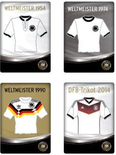 """Tolle Fanartikel zur Fußball-WM 2014, wie """"DFB Magnete Set Weltmeister Trikots"""" jetzt erhältlich: http://fussball-fanartikel.einfach-kaufen.net/anstecknadeln-knoepfe-aufnaeher/dfb-magnete-set-weltmeister-trikots/"""