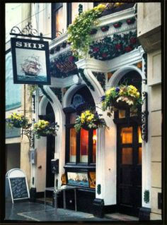 The Ship ~  Great little pub in the City,
