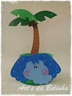 Elefante palmera