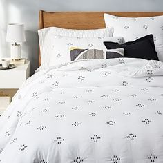 Modern Furniture Sale & Home Furnishings Sale West Elm Bedding, Teen Bedding, Bedding Sets, Comforter, Furniture Sale, Modern Furniture, Dream Bedroom, Master Bedroom, New Room