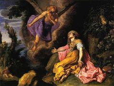 Pieter Lastman, Hagar and the Angel